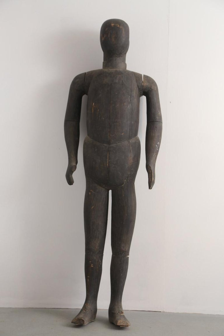 Early 19th Century Japanese Lifesize Armour Display Mannequin In Good Condition For Sale In Poling, West Sussex