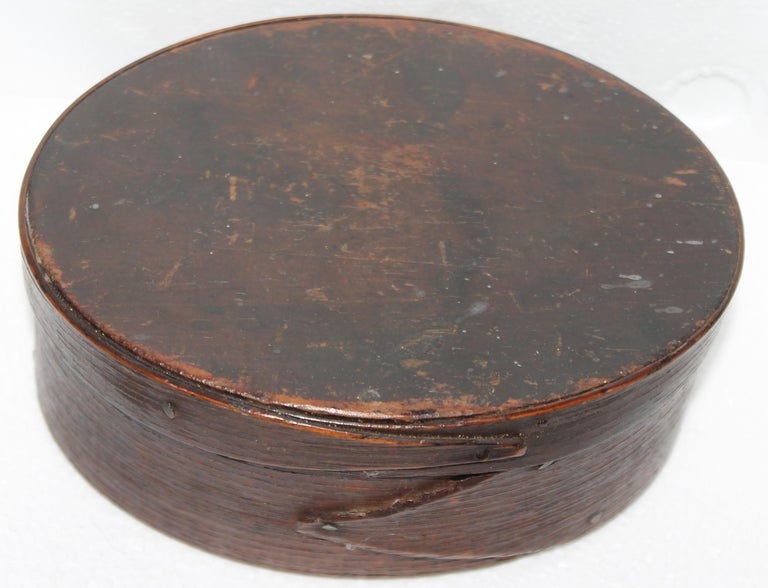 Country Early 19Thc Harvard Shaker Style Pantry Box For Sale