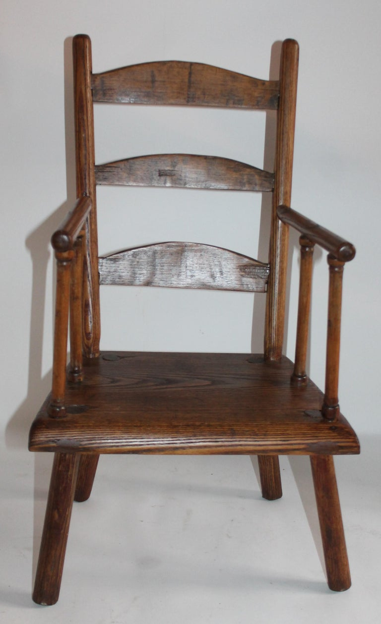 Adirondack Early 19th Century New England Child's Chair For Sale