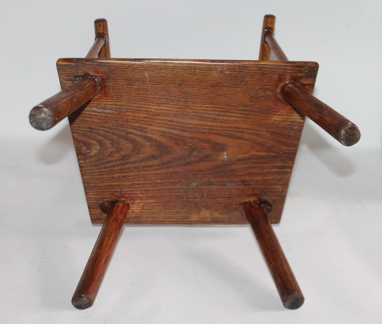 Late 19th Century Early 19th Century New England Child's Chair For Sale