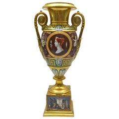 Early 19th Century Paris Porcelain Urn