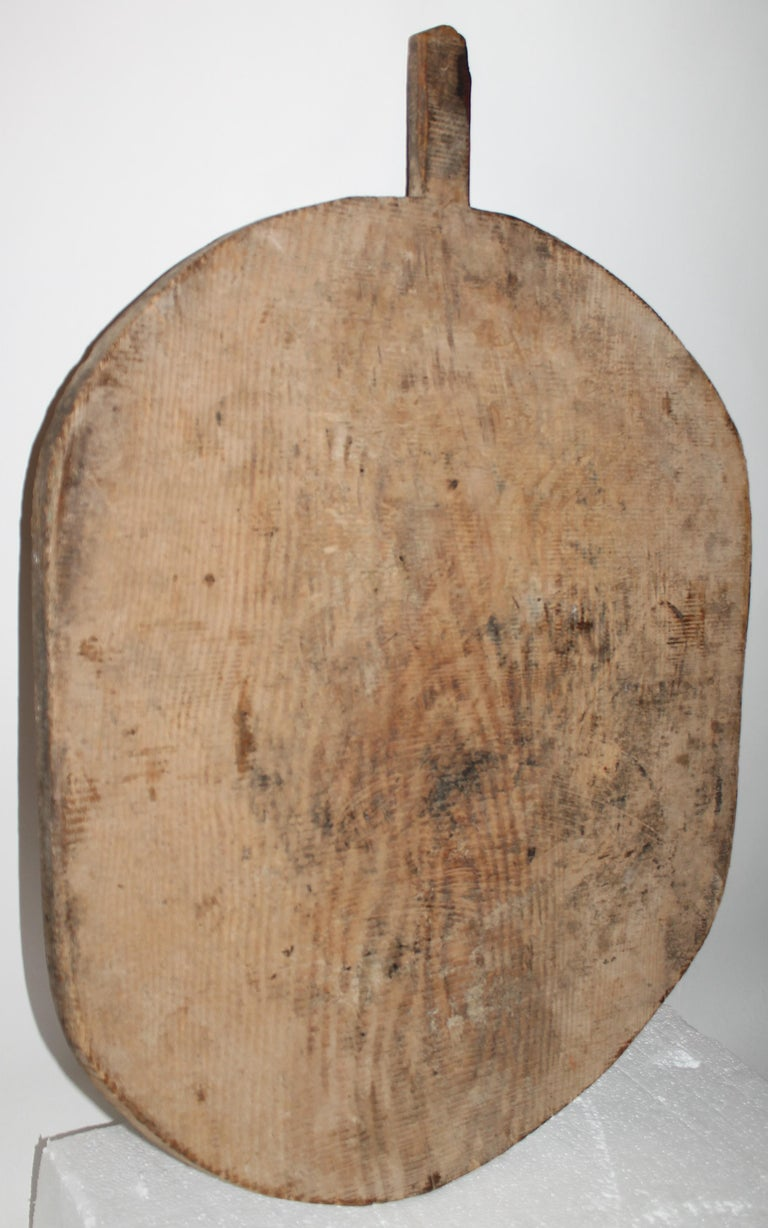 Adirondack Early 19thc Pine Cutting Board For Sale