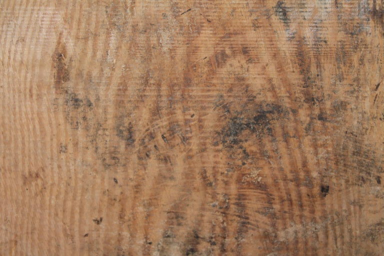 Hand-Crafted Early 19thc Pine Cutting Board For Sale