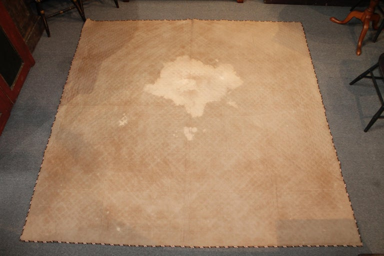 Early 19th Century Quilt, Mini Pieced Nine Patch from Pennsylvania For Sale 6