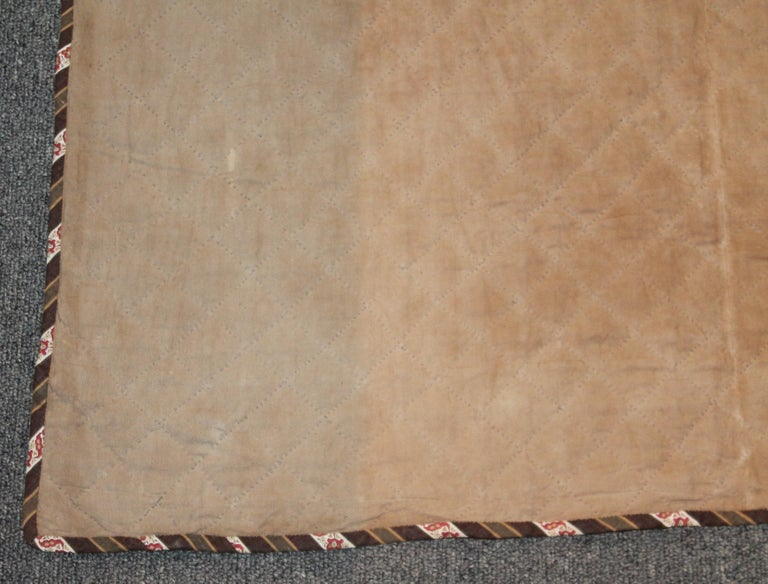 Early 19th Century Quilt, Mini Pieced Nine Patch from Pennsylvania For Sale 7