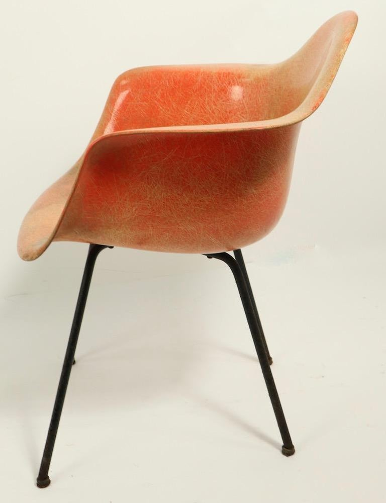 Early 1st Generation Eames Rope Edge Zenith SAX Chair For Sale 5