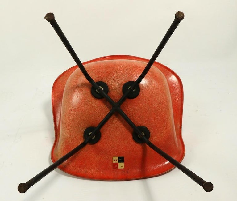Early 1st Generation Eames Rope Edge Zenith SAX Chair For Sale 10