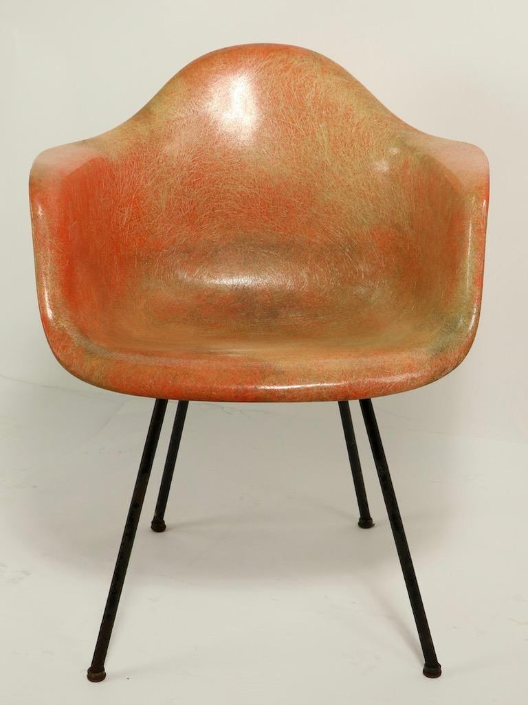 American Early 1st Generation Eames Rope Edge Zenith SAX Chair For Sale