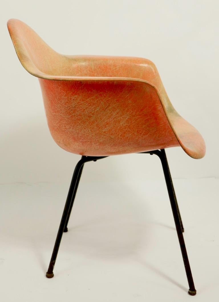 20th Century Early 1st Generation Eames Rope Edge Zenith SAX Chair For Sale