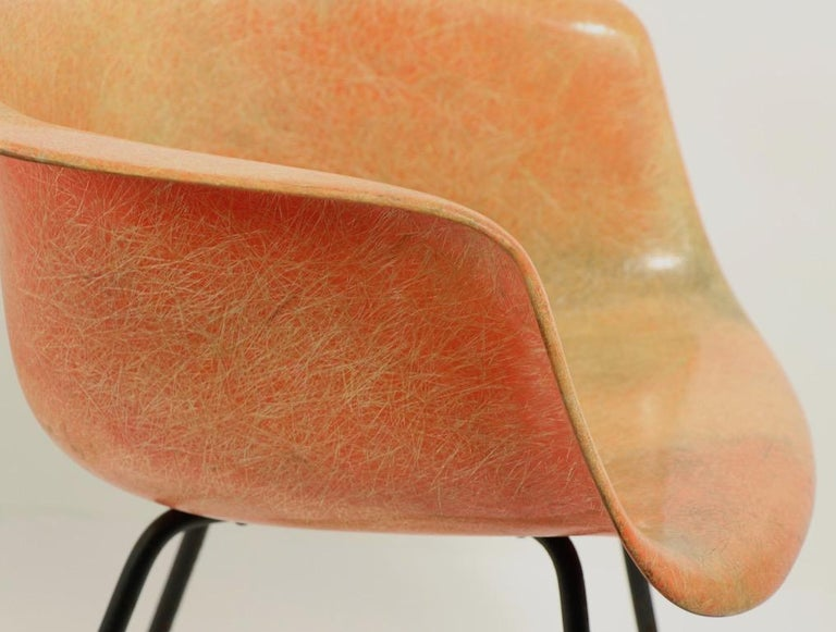 Early 1st Generation Eames Rope Edge Zenith SAX Chair For Sale 1