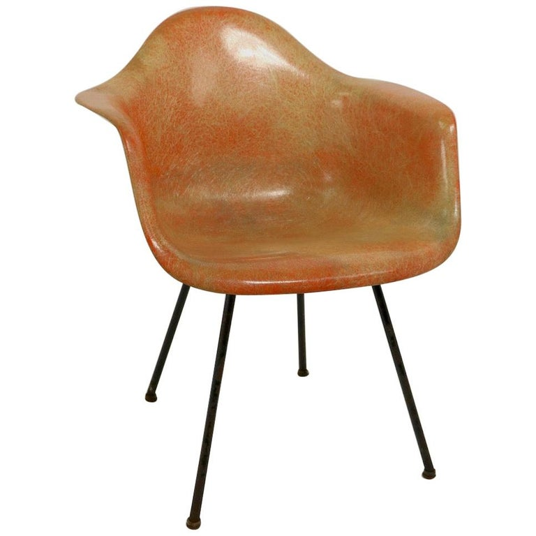 Early 1st Generation Eames Rope Edge Zenith SAX Chair For Sale
