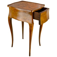 Early 20 Century French Louis XVI Style Marquetry Table
