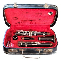Early 20th Century Boosey & Hawkes The Edgeware Clarinet in Case