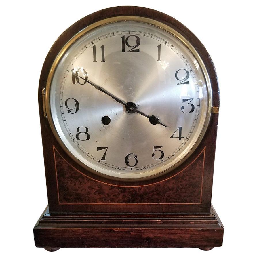 Early 20th Century British 8 Day Movement Mantel Clock