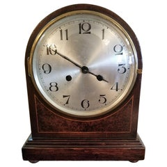 Early 20th Century British 8 Day Movement Mantel Clock