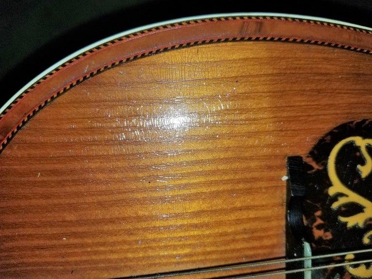 Early 20th Century Italian Mandolin with Original Case For Sale 2