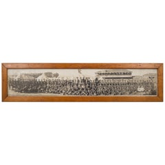 "Early 20th Century ""Camp Tanforan, The Grizzlies"" Panoramic Photo, circa 1917"