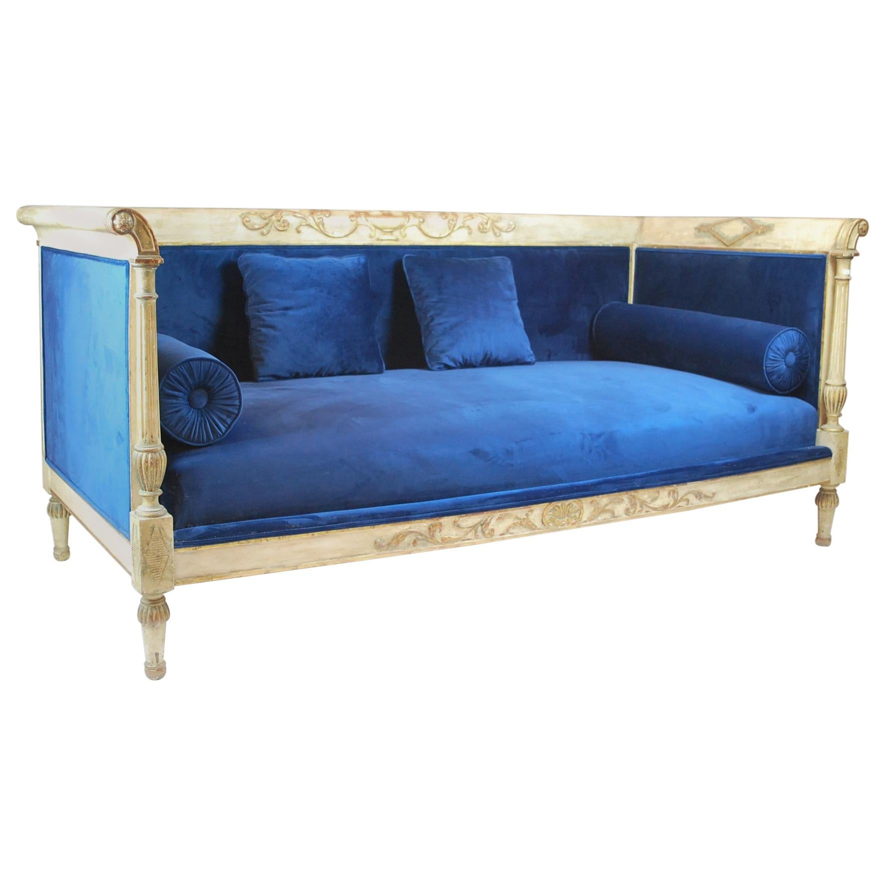 Early 20th Century Directoire Style Sofa