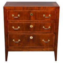 Early 20th C English Mahogany Chest of Drawers