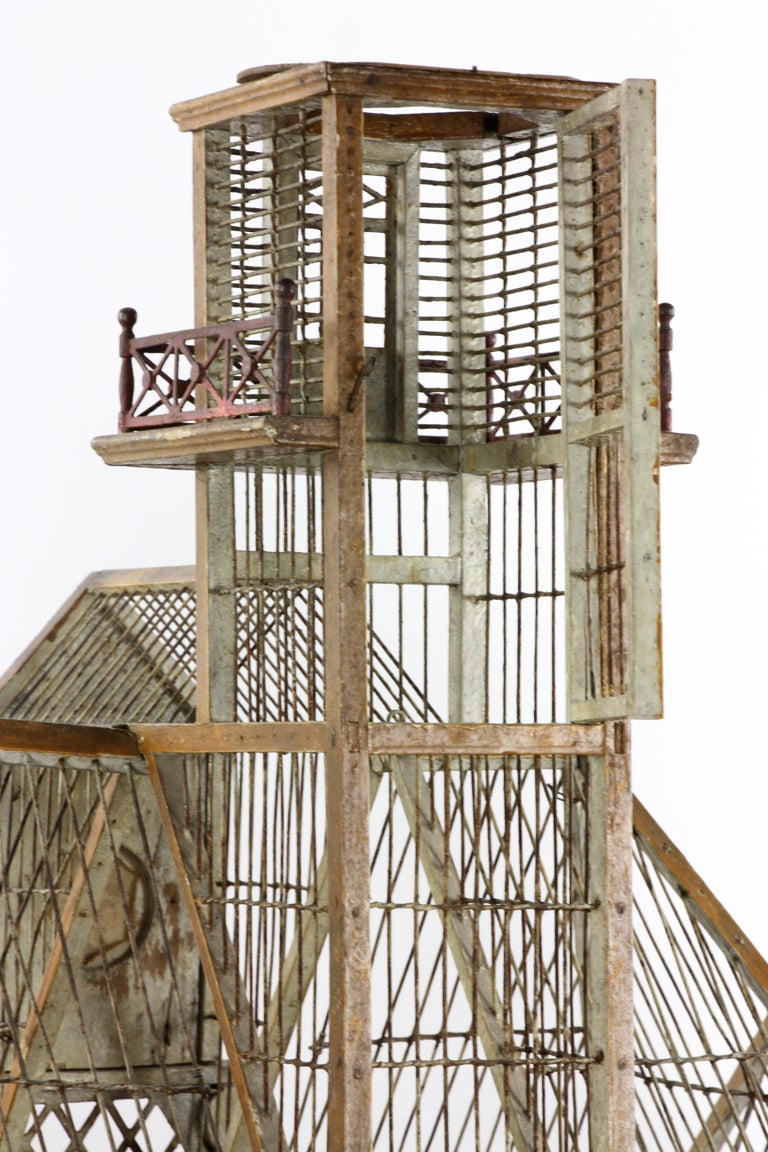 French Bird House Two-Level For Sale 1