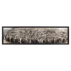 """Early 20th Century """"I.A. of T.S.E Convention"""" Panoramic Photo, circa 1938"""