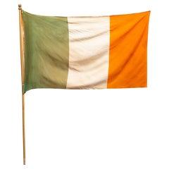 Early 20th C. Irish Flag, c.1950