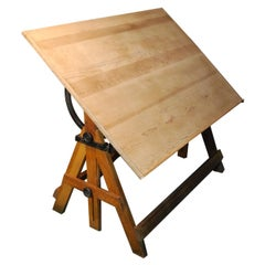 Early 20th C. Keuffel & Esser Co. Drafting Table