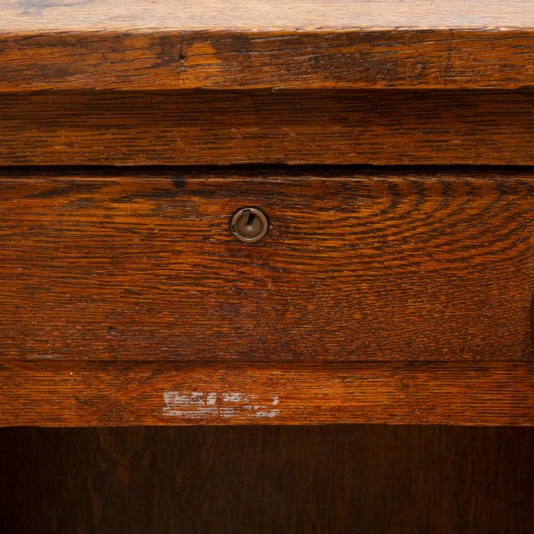 Early 20th c. Oak Children's Writing Desk, c.1940 8