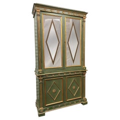 Early 20th-C. Painted Venetian Neo-Classical Style Cabinet or Bar