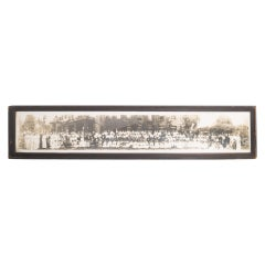 """Early 20th Century Panoramic Photo """"Holy Names College"""" circa 1914"""