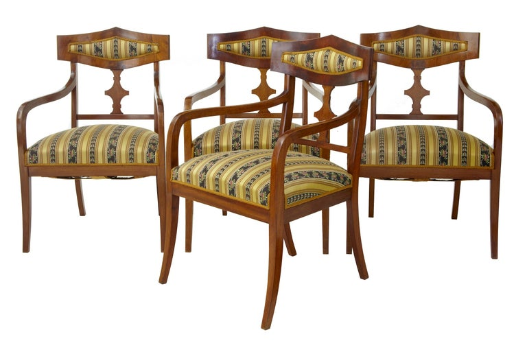 Edwardian Early 20th Century 13 Piece Mahogany Salon Suite For Sale
