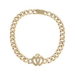 Early 20th Century 15 Carat Gold Split Pearl Bracelet