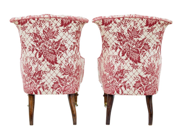 Early 20th Century 3-Piece Upholstered Salon Suite For Sale 2