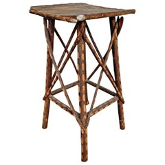 Early 20th Century Adirondack-Style Twig Table