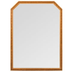 Early 20th Century Aesthetic Movement Oak Mirror