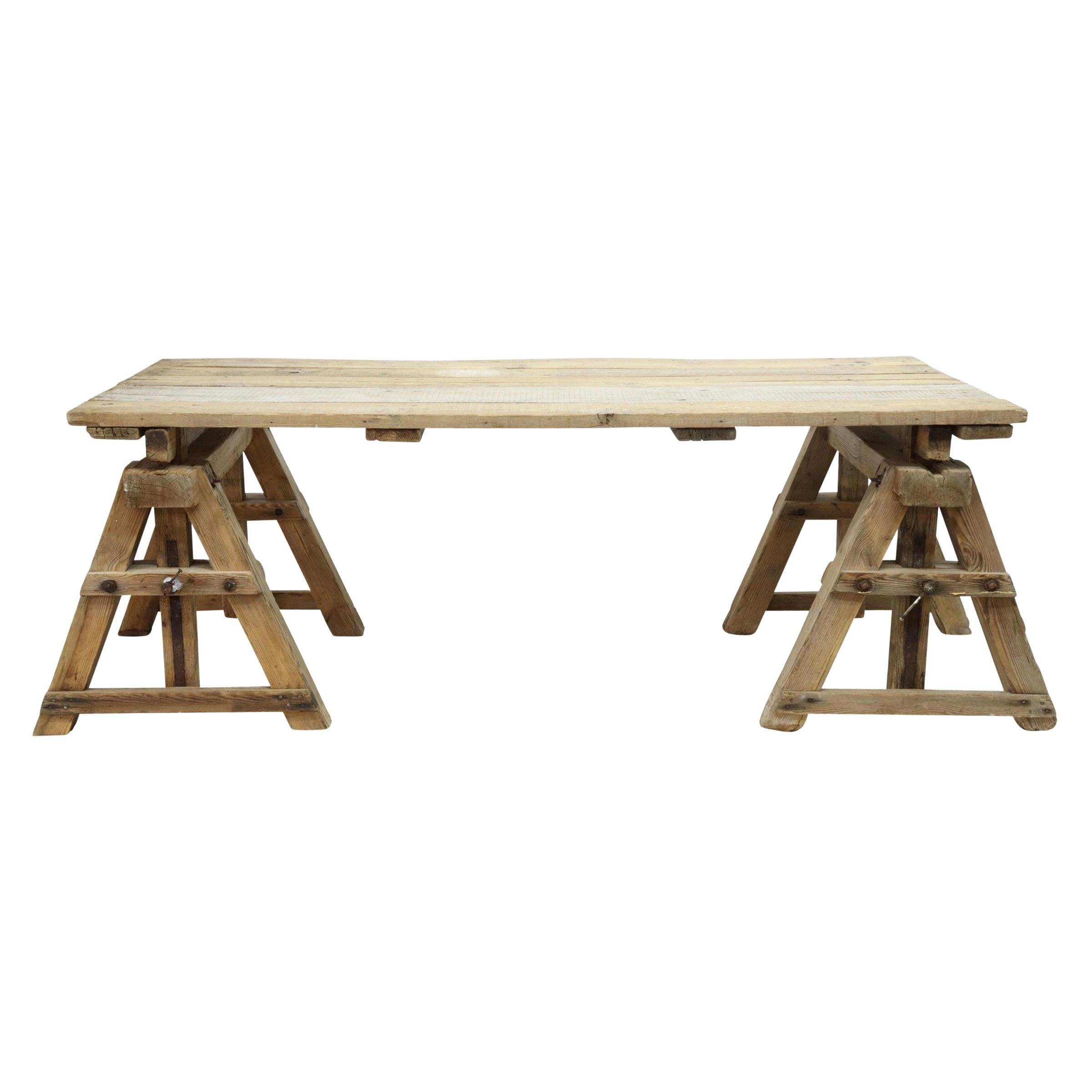 Early 20th Century American Adjustable Work Table