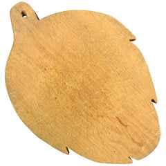 Early 20th Century American Artichoke Form Cutting Board