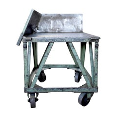 Early 20th Century American Industrial Cart from a Print Shop