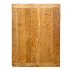 Early 20th Century American Maple Breadboard