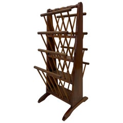 Early 20th Century American Pine Magazine Rack, C.1930