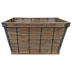 Early 20th Century American Tobacco Leaf Basket