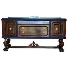 Early 20th Century American Walnut Sideboard