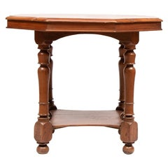 Early 20th Century Anglo-Indian Teak Table from Kerala