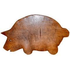 Early 20th Century Animal Shaped Cutting Board
