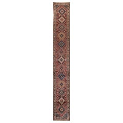 Early 20th Century Antique Bakhtiari Wool Runner