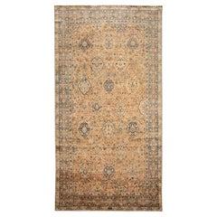 Early 20th Century Antique Kirman Long Wool Rug
