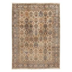 Early 20th Century Antique Kirman Wool Rug
