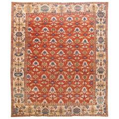 Early 20th Century Antique Large bakshaish Wool Rug