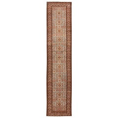Early 20th Century Antique Malayer Wool Runner