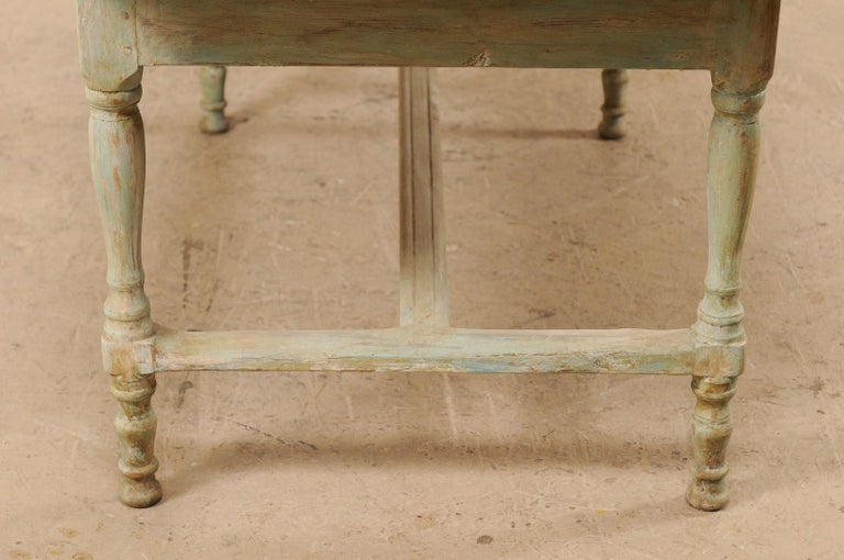 Early 20th Century Antique Swedish Farm-House Table For Sale 6